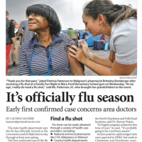 2013-10-10-Post-and-Courier-Flu-Start-Article