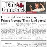 Benefactor Acquires Prince George Track Daily Gamecock April 13 2015