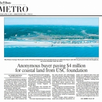 The-State-Tuesday-April142015-Anonymous-buyer-paying-4-million-for-coastal-land-from-USC-foundation