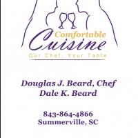 Comfortable Cuisine Business Card