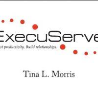 ExecuServe Business Card Design