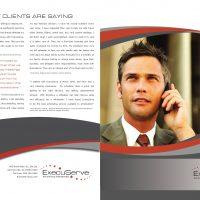 ExecuServe Print Brochure, Exterior