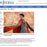 Charleston Regional Business Journal coverage of Ibu pop-up shop