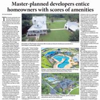 Master-planned developers entice homeowners with scores of amenities