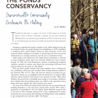 Ideal Living Magazine article on The Ponds Conservancy