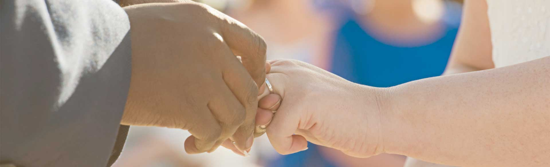 wedding promises and brand promises are meant to to be kept