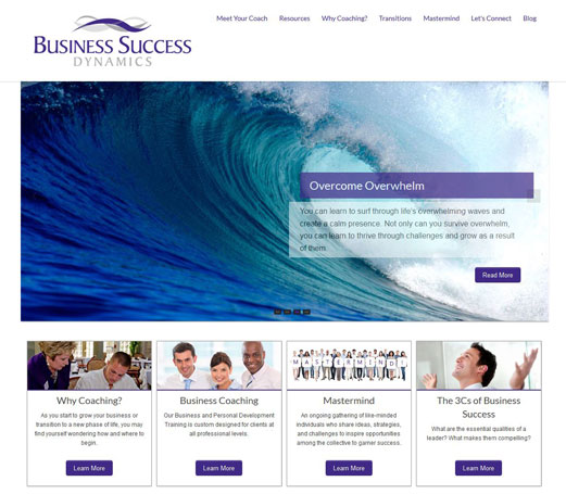 Business Success Dynamics Website