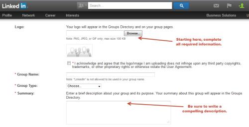 Smaller LinkedIn Groups Details