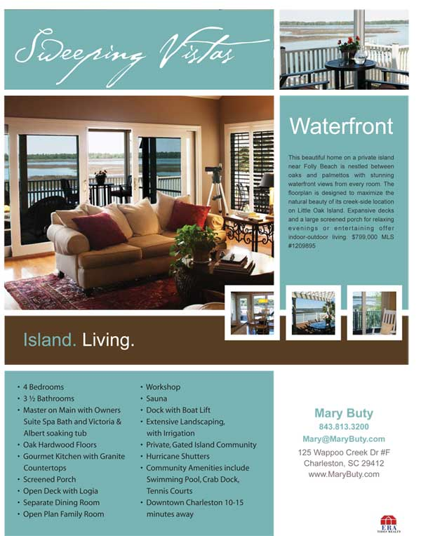 Realtor Flyer for luxury home