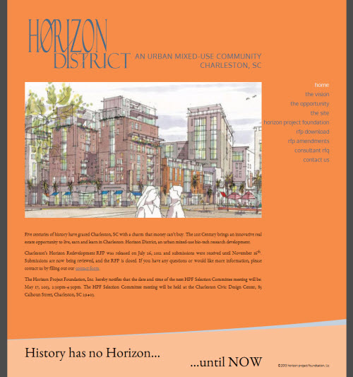 Horizon Project Home Page