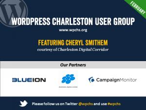 Cover slide for WordPress SEO Essentials Charleston