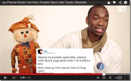 Pumpkin Spice Funny Video