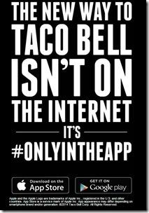 Taco Bell New App