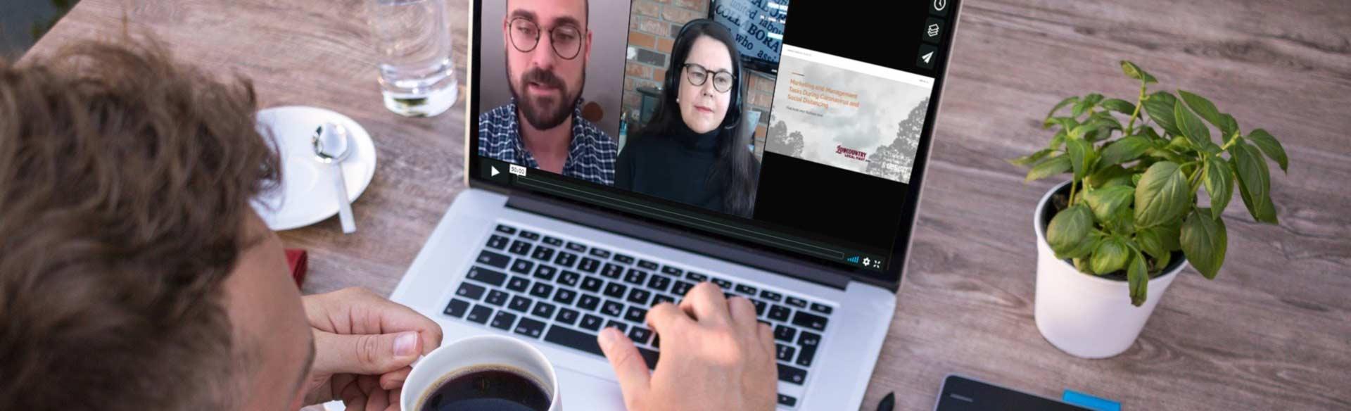 webinar marketing tasks during coronavirus