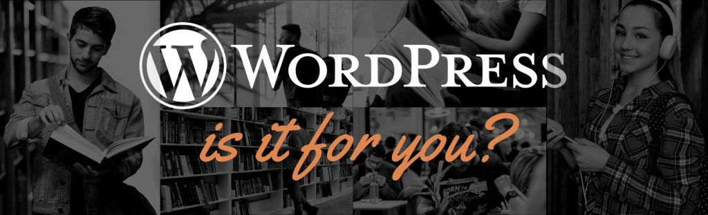 WordPress. Is it for you? Bring your questions to our virtual round table.