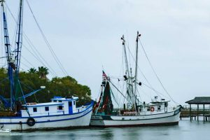 Shem Creek Shrimp Trawlers by Terry Ott on Flickr