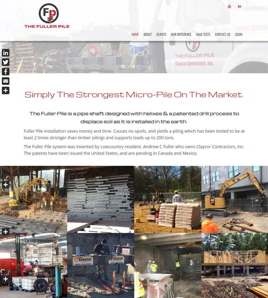 Fuller Pile Website